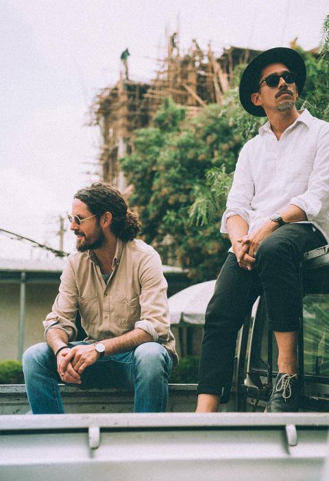 Max Herre & Samon Kawamura in Addis Abeba, Äthiopien