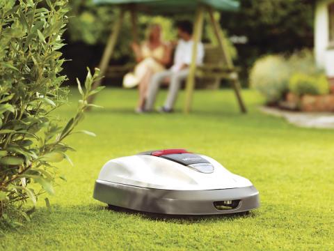 Skånsk mässpremiär på Hem&Villa (Skånsk Trädgård) för Hondas robotgräsklippare Miimo