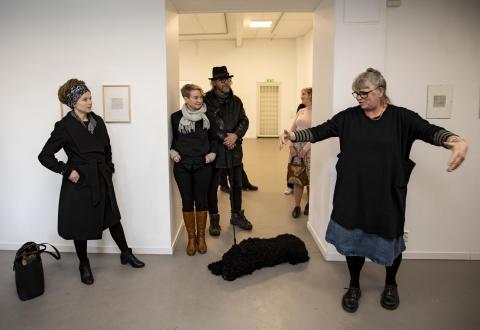 Amanda Lind besöker konstepidemin 22.02.19 04