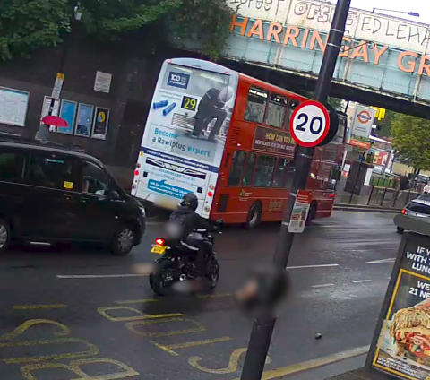 Appeal for information following serious collision in Haringey