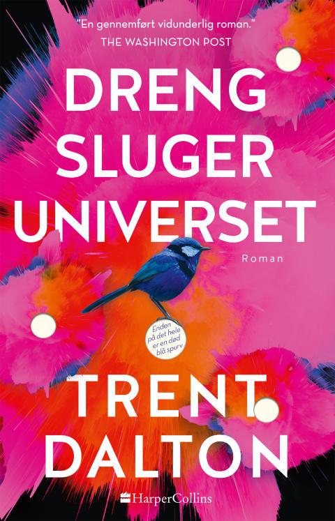 Nyhed på vej fra HarperCollins: DRENG SLUGER UNIVERSET af Trent Dalton