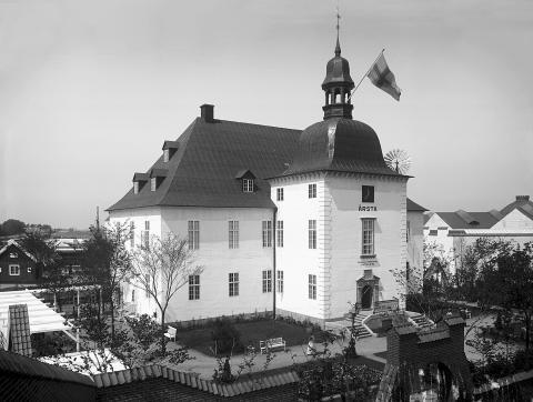 Årsta slott, Malmö 1914, foto: Albert Wilhelm Rahmn/Malmö Museer