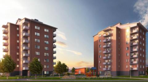 Riksbyggen bygger 40 nya lägenheter i Berga