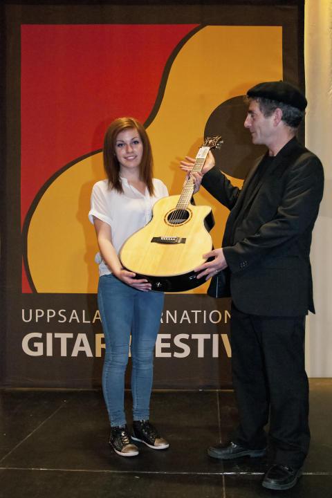 Gabriella Quevedo vann Finalen på  Konsert Unga förmågor 2012