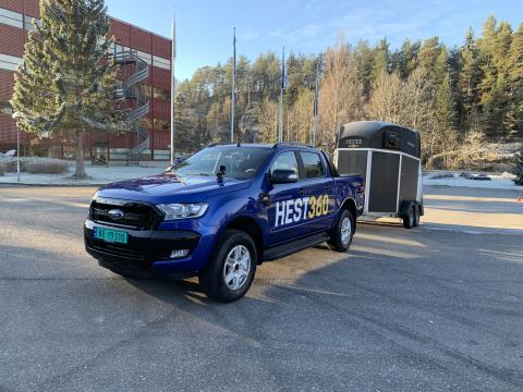 Ryggekonkurranse Ford Ranger