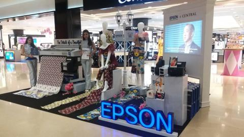 """Epson X Kloset in """"The Details of a Beautiful Mind"""""""