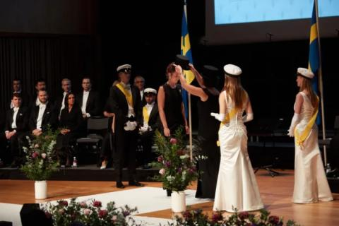 The academic ceremony concluded Jönköping University's 25th anniversary