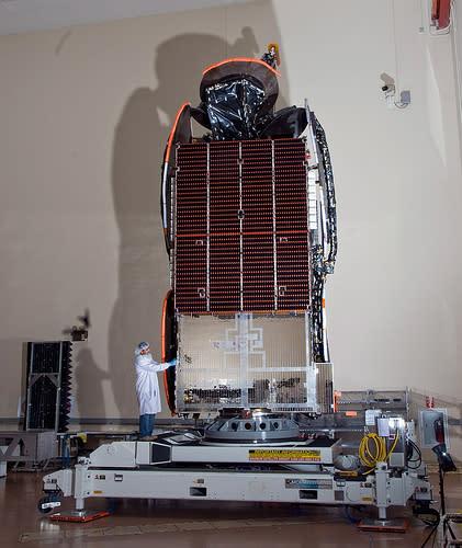 Cisco-router i rymden minimerar delay