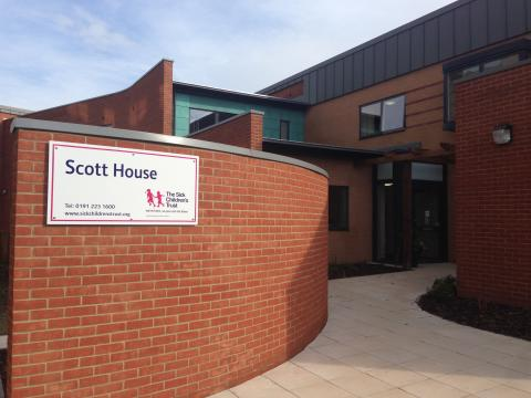 Harrison Centre for Social Mobility donates £8,000 to The Sick Children's Trust