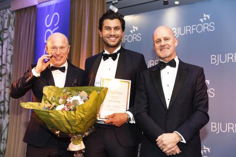 Daniel Adelsson är historisk – vinner titeln Årets Bjurforsmäklare för sjätte året i rad