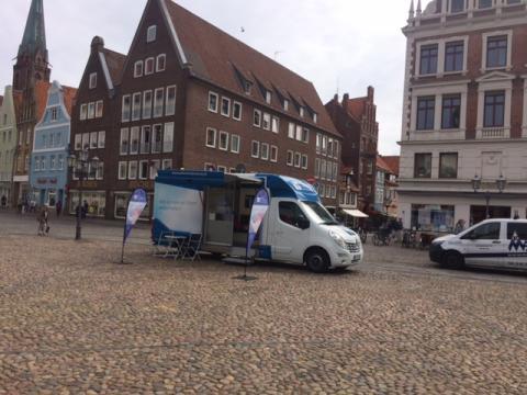 Beratungsmobil der Unabhängigen Patientenberatung kommt am 23. Januar nach Lüneburg.