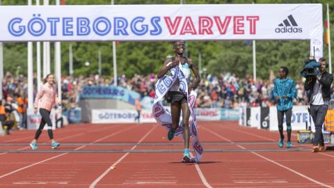 Dubbla banrekord i GöteborgsVarvet