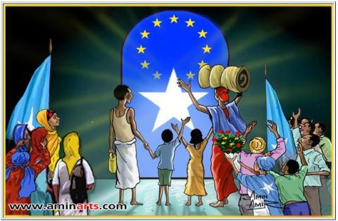 Somalias store satirtecknare Amin Amir porträtteras i ny dokumentärfilm