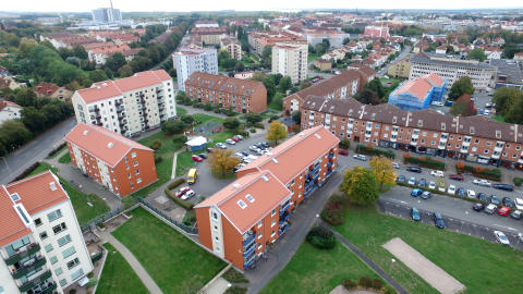 AB Kristianstadsbyggen har minskat koldioxidutsläpp med 76 procent