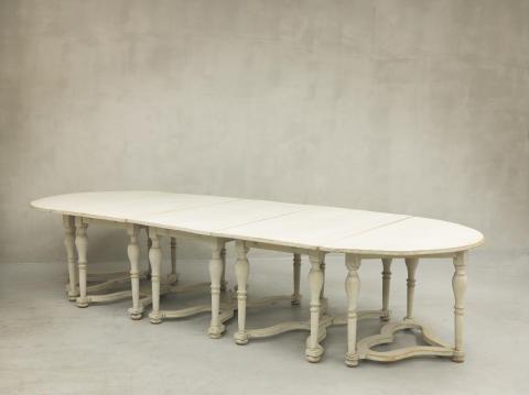Nils Bielkes matbord från Salsta, 1700-talets början