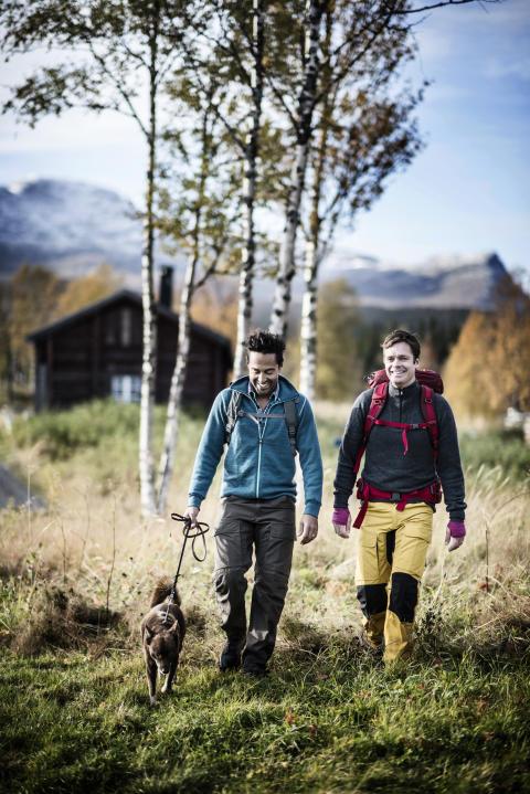 Hiking at Fröå Gruva, Åre