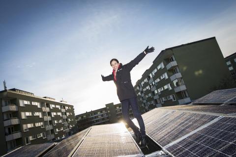 Invigning av norra Europas största solcellsatsning