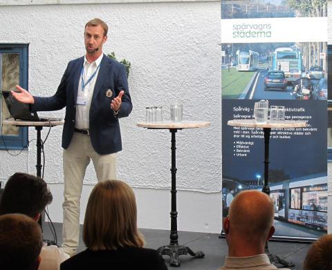 Dokumentation: Moderna spårvägar och Sveriges ekonomiska konkurrenskraft