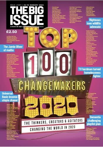 The Big Issue Top 100 - In-page