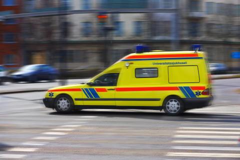 Allt längre väntan på ambulans vid hjärtstopp