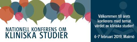Pressinbjudan: Vilka värden skapar kliniska studier och för vem? - Välkommen till Nationell konferens om kliniska studier