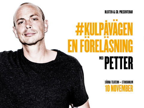 Petters föreläsning #kulpåvägen en succé, tillbaka i Stockholm 10 november!