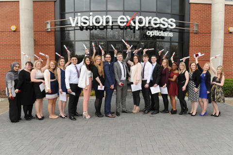 Ofsted awards 'Good' rating for Vision Express' in-demand apprenticeship programme