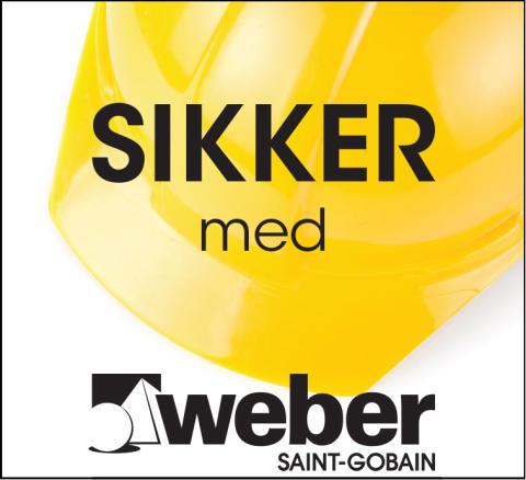 Bliv sikker med Weber på Byggeri' 14