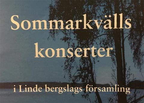 Sommarkvällskonserter i Lindesbergs kyrkor