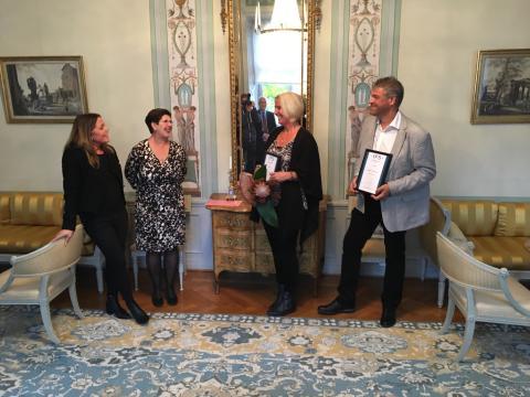 Årets Nybyggare i Dalarna är Forssa Trafikskola och Lek ute
