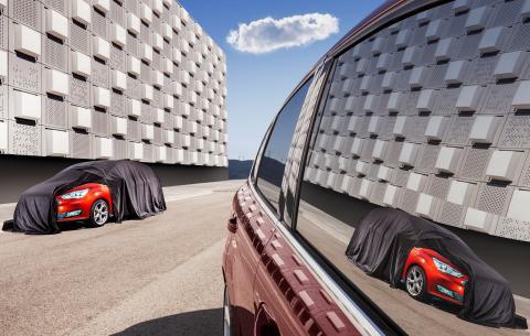 Ny Ford C-MAX teaser