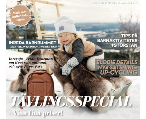 "Swedish newspaper Expressens section ""Familjeliv & Barn"""