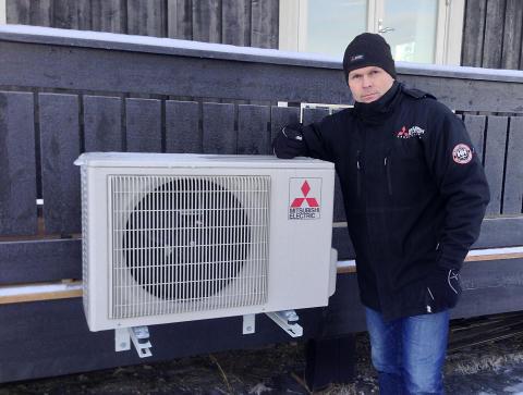 Testvinner varmepumpe klarer sprengkulde