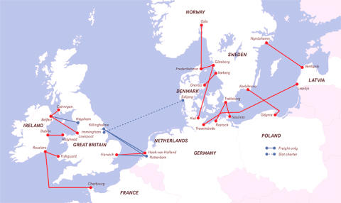 Stena Line Route Map_TRAVEL