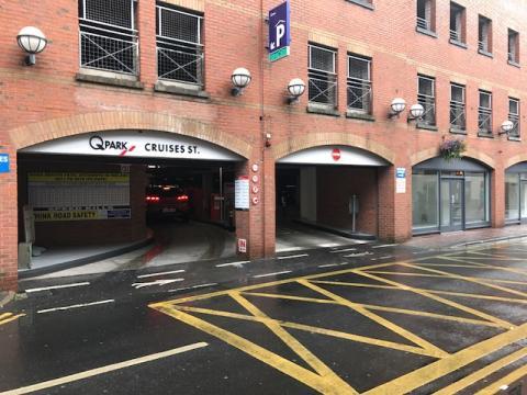 Q-Park Cruises Street, Limerick gets an upgrade.