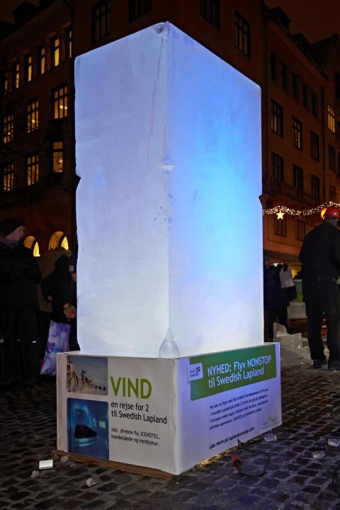 1,5 ton is fra Europas sidste vildmark lander i dag i Aarhus