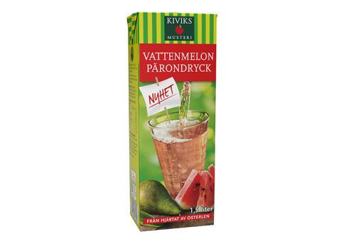 Säsongens smak är Vattenmelon & Päron