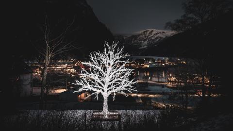 Senk skuldrane og kom i julestemning i Flåm