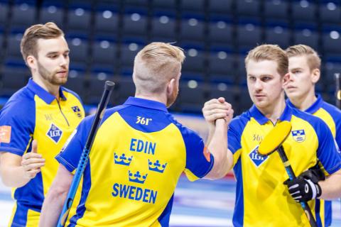 Curling-EM: Edin i tabelltoppen efter vinst mot Italien