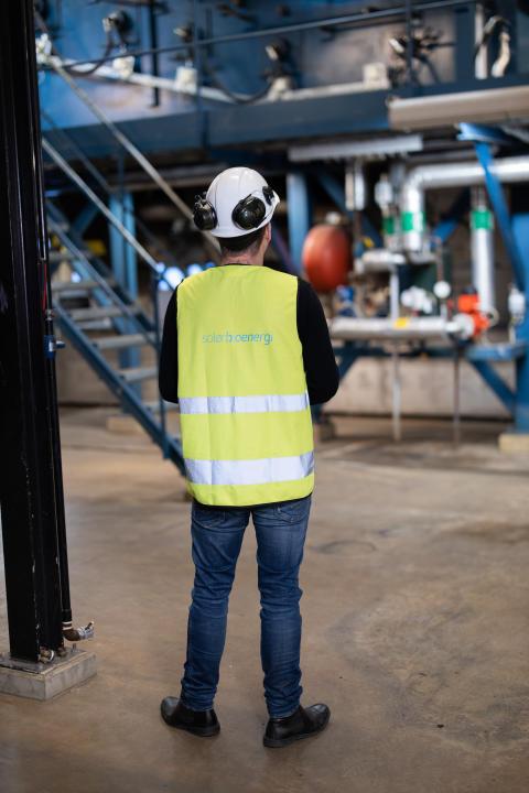 Solör Bioenergis anläggning i Mölnlycke