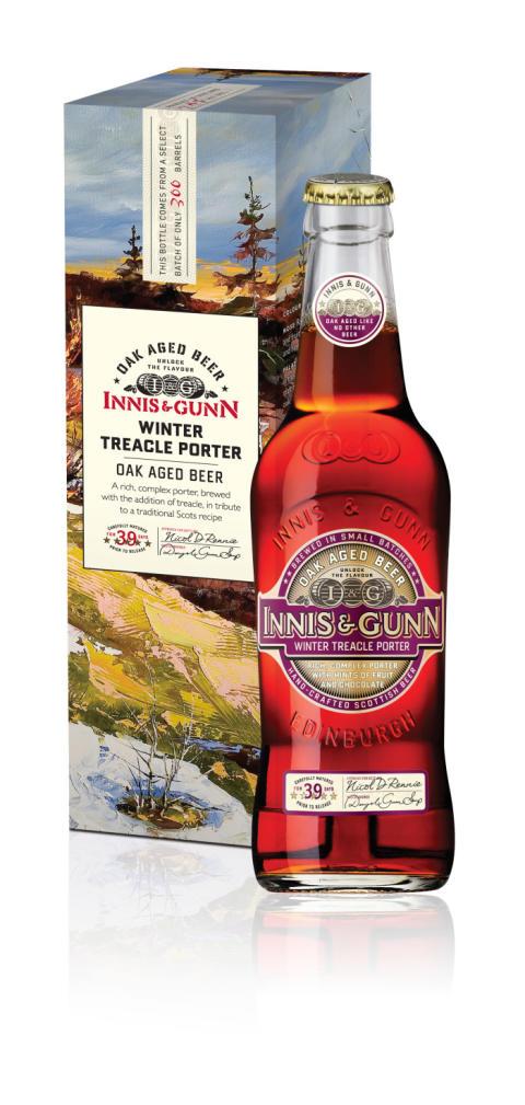 Innis & Gunn släpper sin första ekfatslagrade porter med melass.