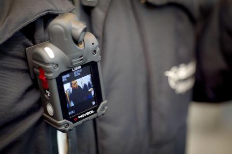 Västtrafik fortsätter testa kroppsburen kamera