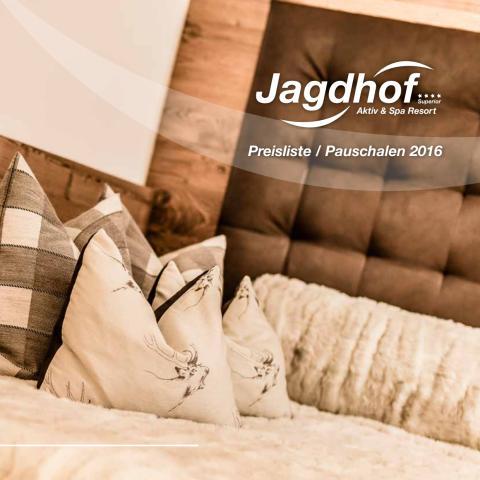 Aktiv & Spa Resort Jagdhof 2016