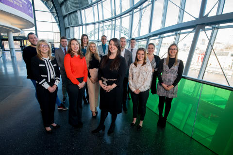 Business students discover the future of travel and tourism in the North East