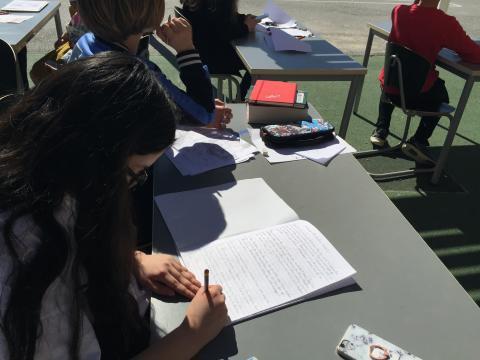 Klass 5a i Malmsjö skola