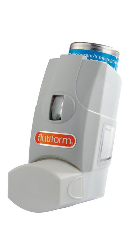 flutiform inhalator for barn