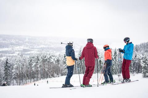 Ulricehamn Ski Center håller öppet över påsklovet