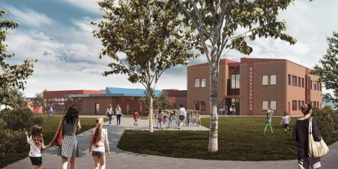 Pressinbjudan – så kommer Rönnbyskolan att se ut i framtiden!