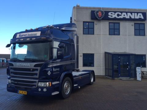 Endnu en Ecolution by Scania-vognmand