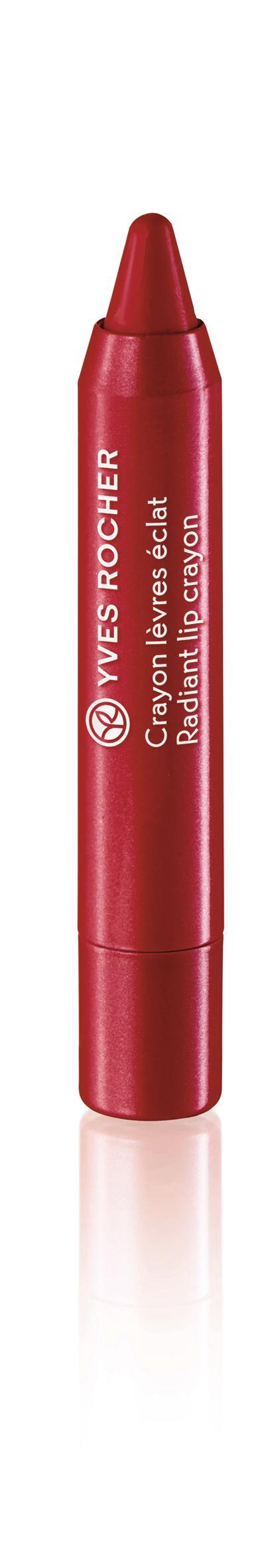 Couleurs Nature Radiant Lip Crayon Rouge flamboyantx